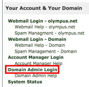 Domain Admin Login