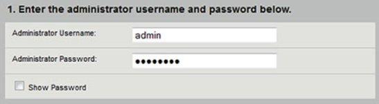image of Admin Username