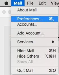 Apple Mail Prefs