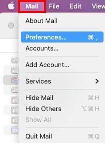 Mail Prefs