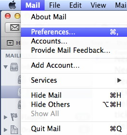 Apple Mail Prefs