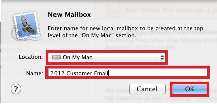 New Mailbox Data