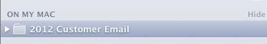 On My Mac