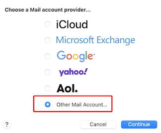 Other Mail Account