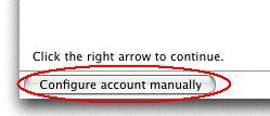 Config manually