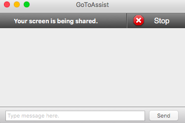 Stop Screenshare